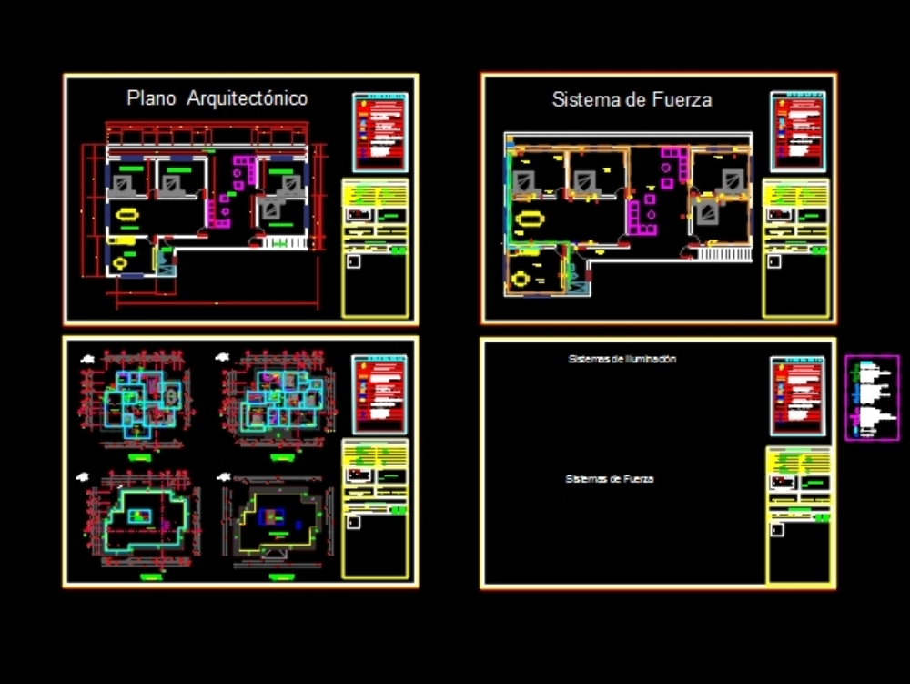 Electrical installations projects