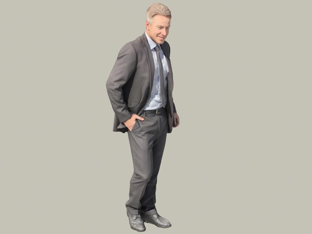 Hombre de negocios 3d
