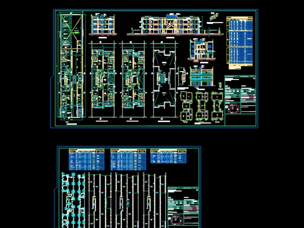 New construction multifamily house plan