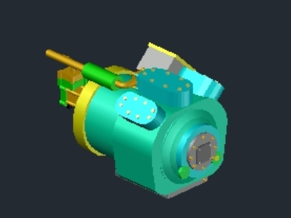Carlyle compressor for air cooled chiller