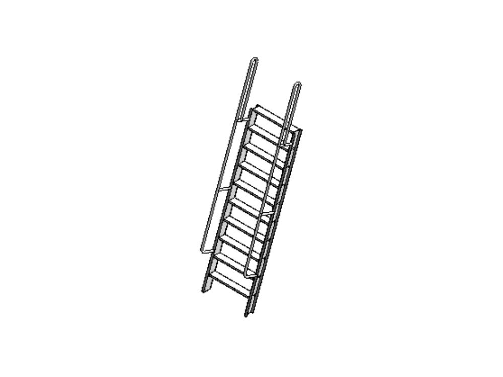 Marine ladder - aluminum jack