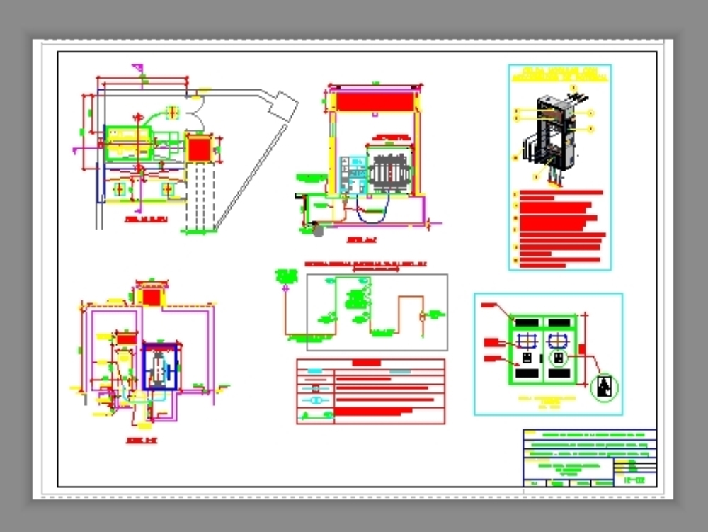Sistema de utilizacion 20kv  y celda de llegada