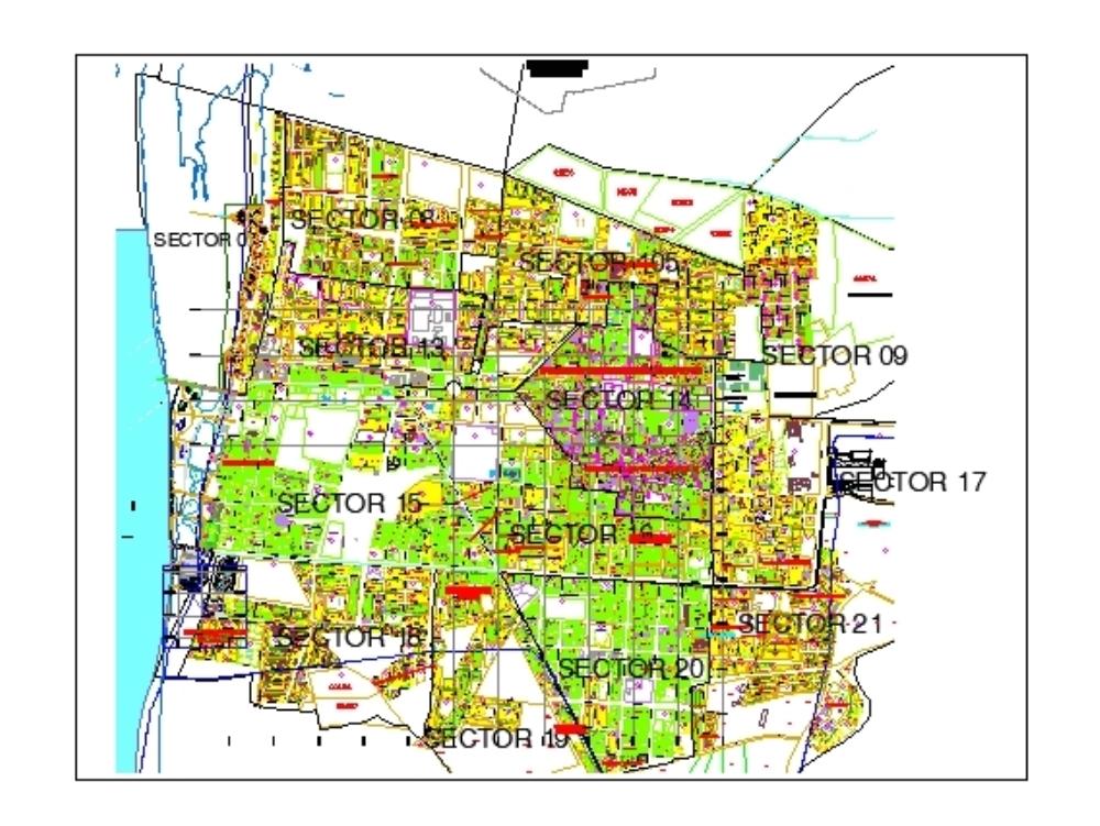 Catrastal plan of peru - ica - pisco
