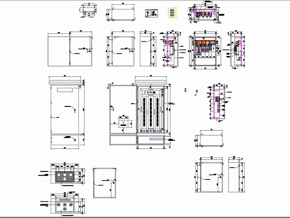 Diseño de tablero de panel