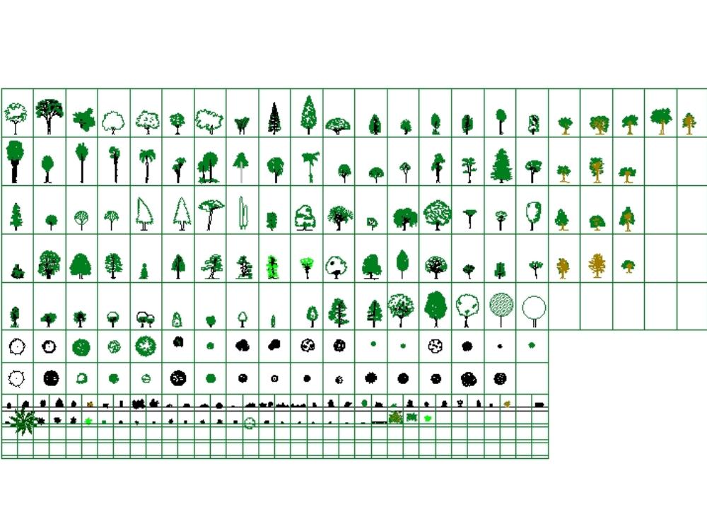 Vegetation blocks