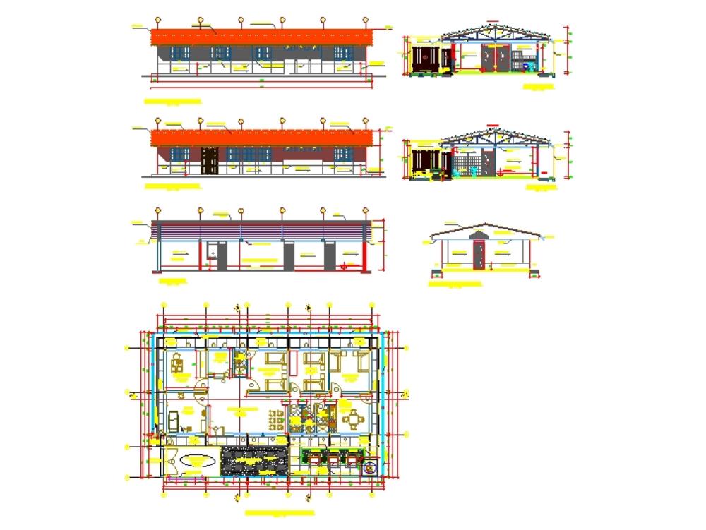Arquitectura de una centro de salud