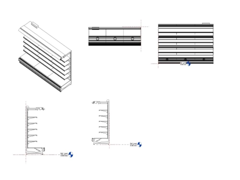 Gondola - shelving in rfa format