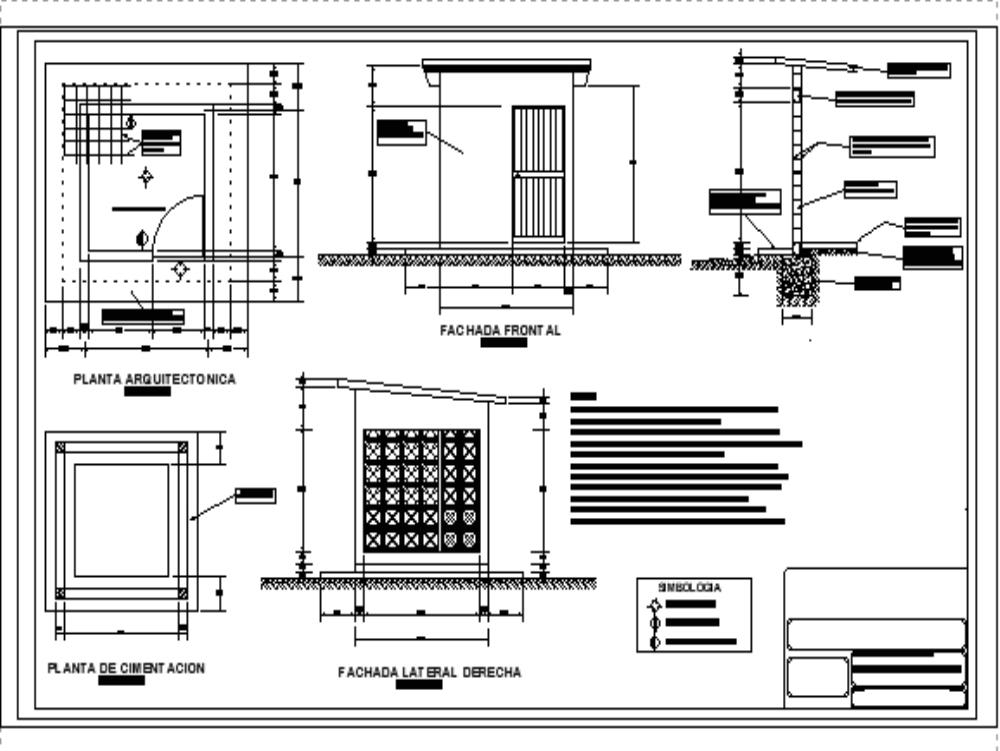 Proyecto de caseta de cloracion y control