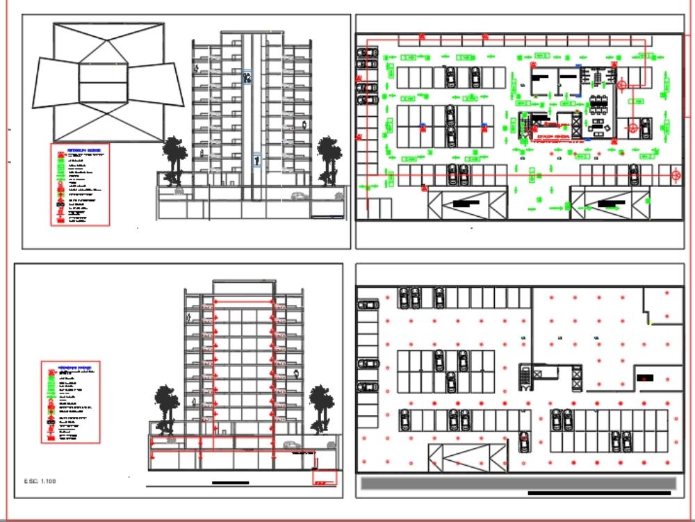 Sistema de detección incendios