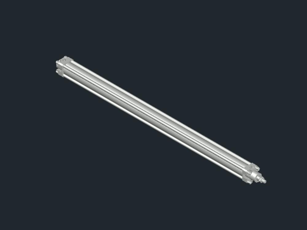Pneumatic piston 1