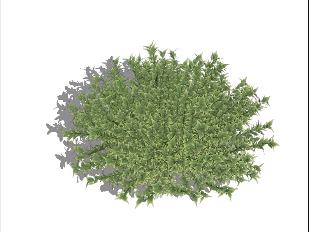 Plantas para jardines 3d de alta definición