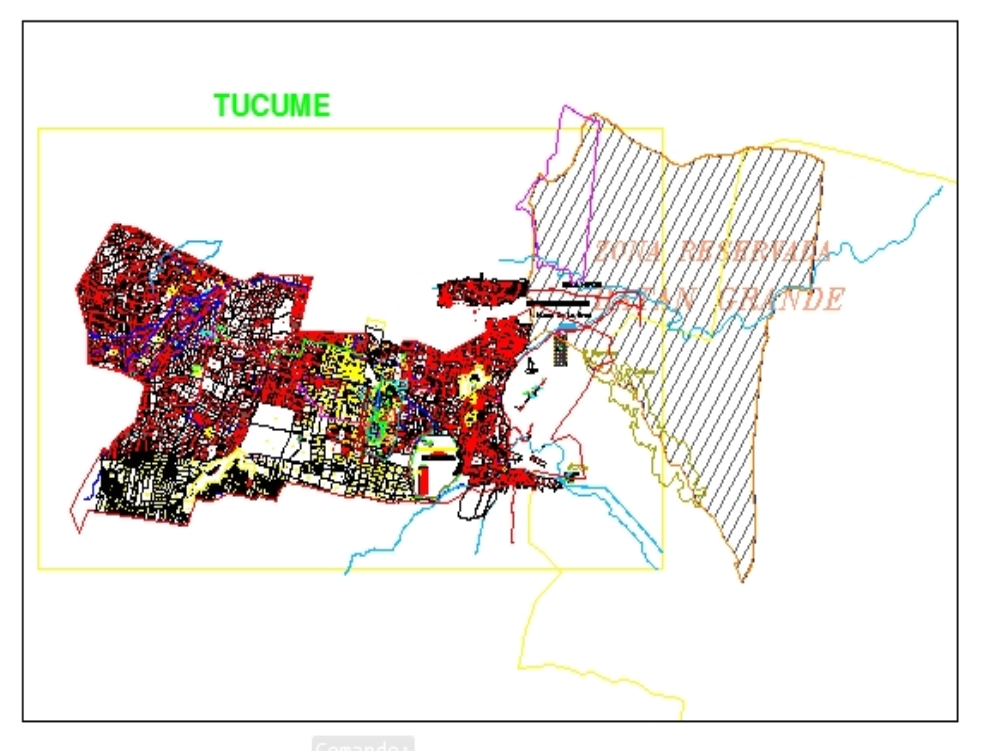 Tucume district cartography - lambayeque