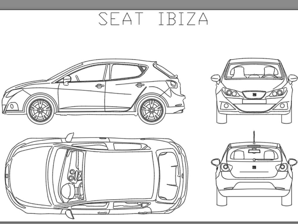 Automóvil seat ibiza
