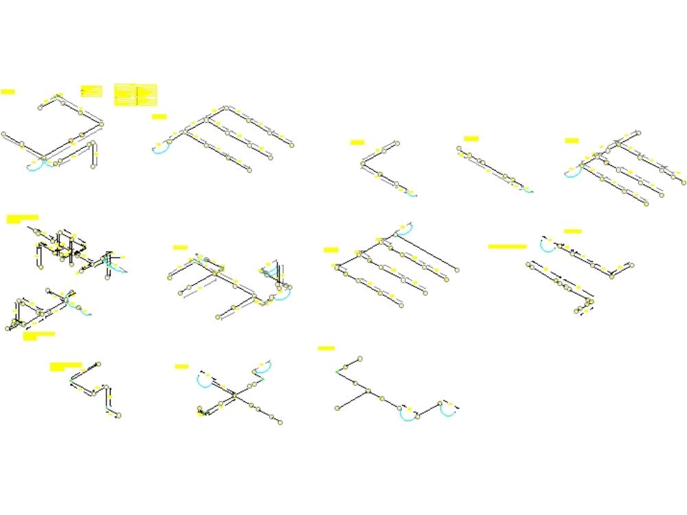 Instalacion electrica  - isometrico