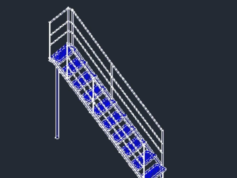 American ladder used in industries