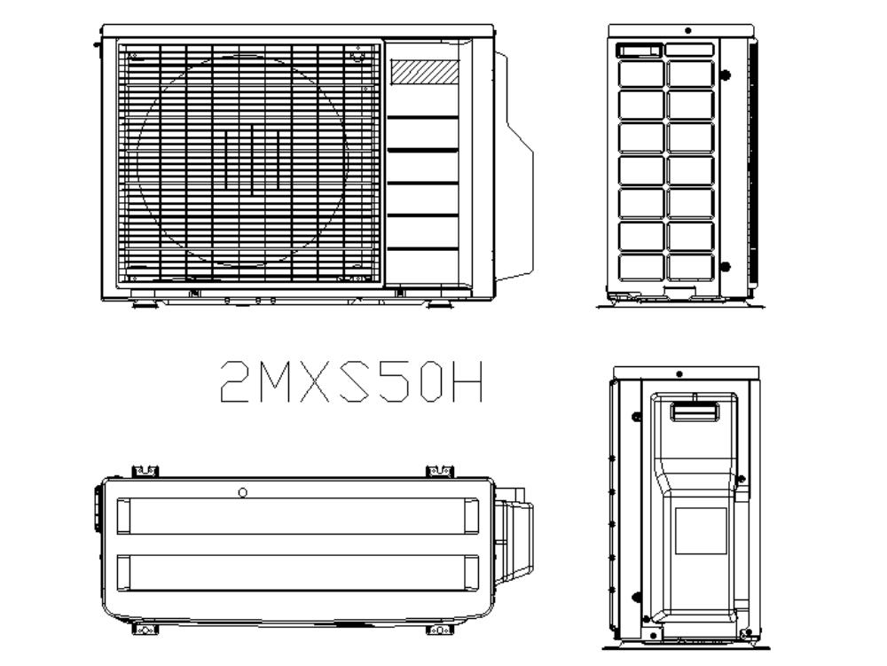Sistema tipo split para sistemas de aire acondicionado