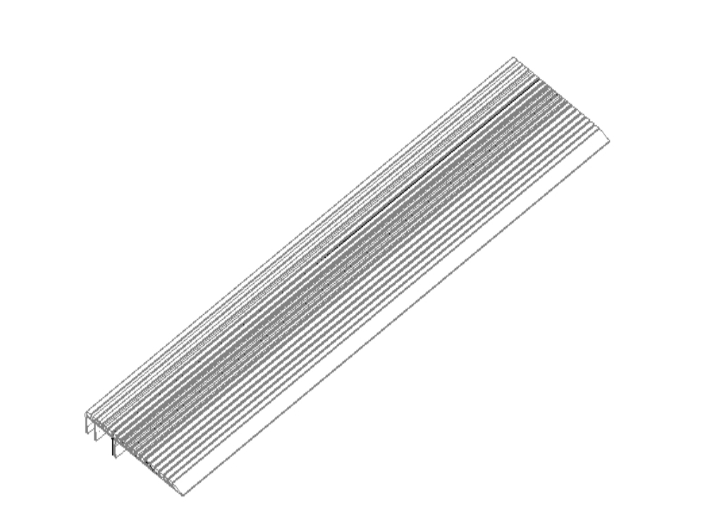 Ladder corner with abrasive material