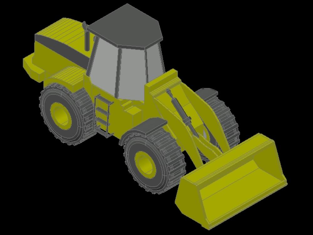 3d wheel loaders