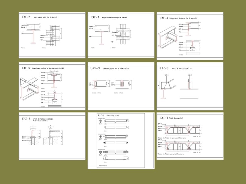 Steel beam plans