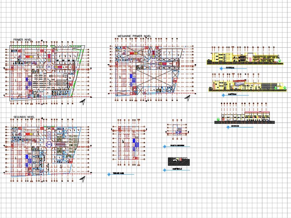 Centro comercial moderno en el peru