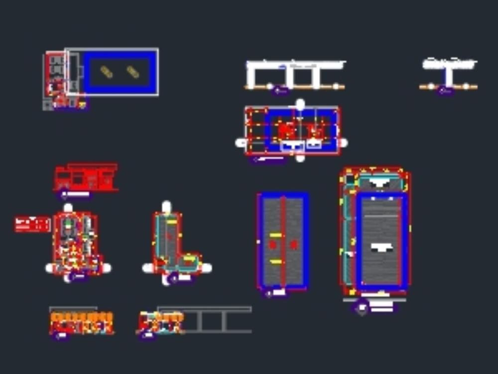 Diseño arquitectónico de gasolinera