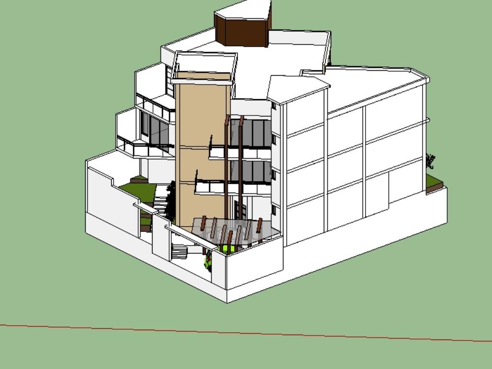 Single-family house 200 m2