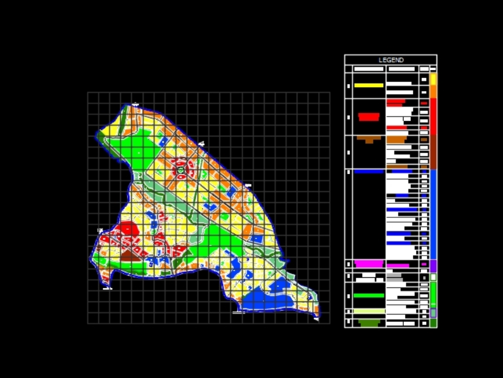 Harar ldp landuse; road network and regulation