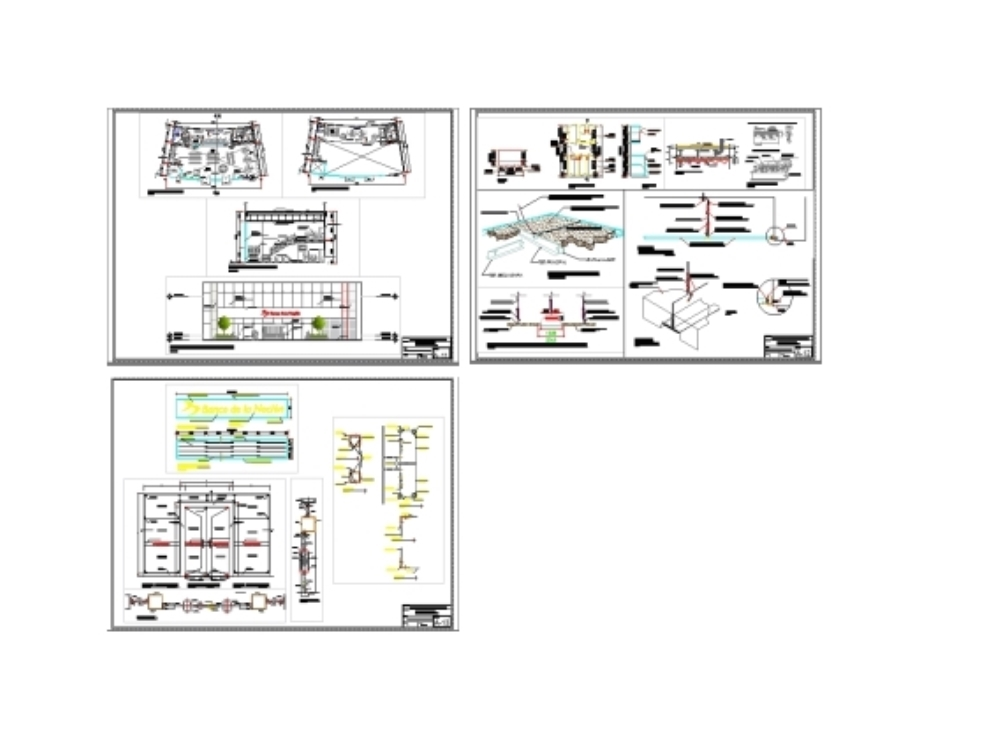 Bank agency architectural project