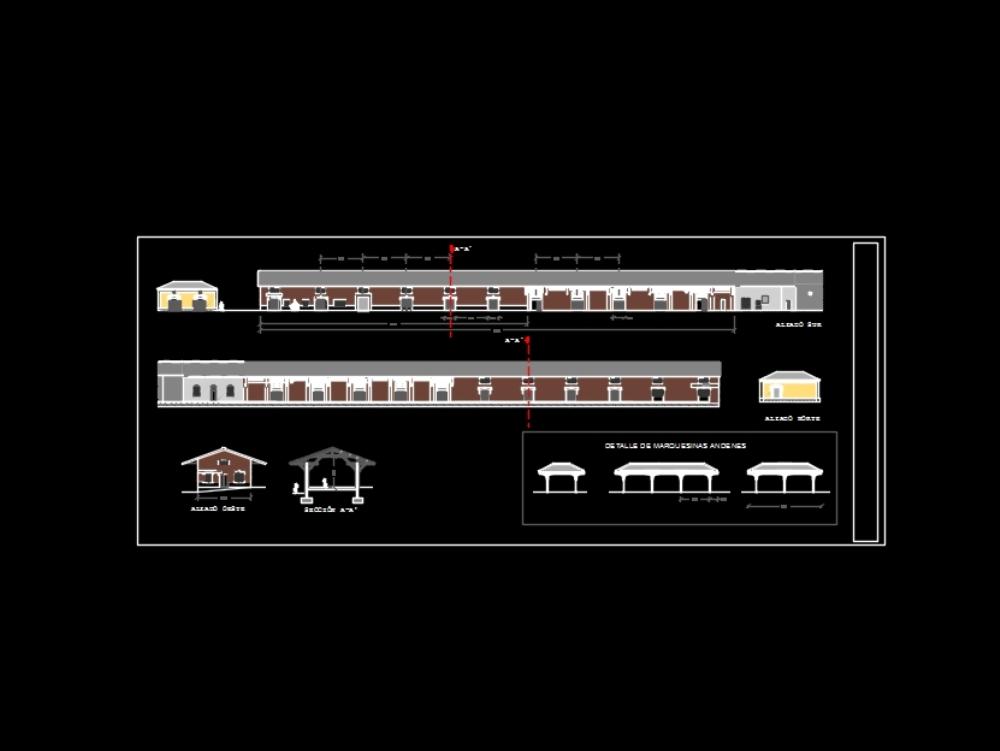 Estación ferrocarril murcia. tren