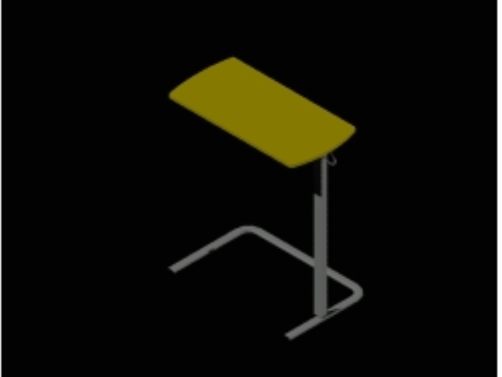 Support table used in hospitals