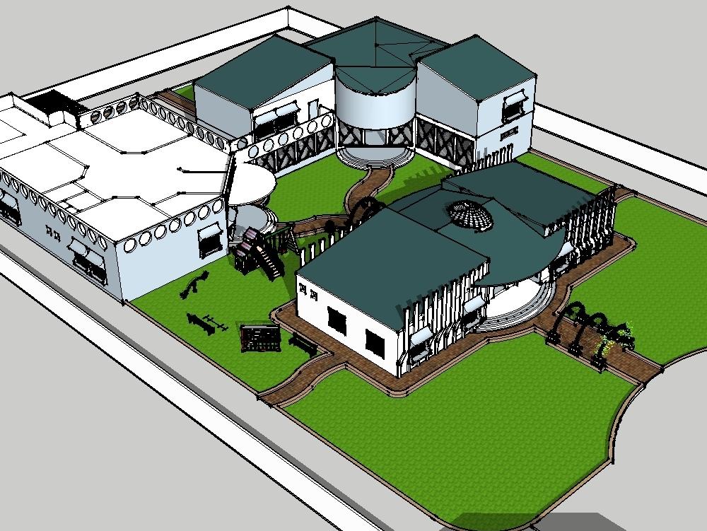Jardín de infancia y escuela primaria
