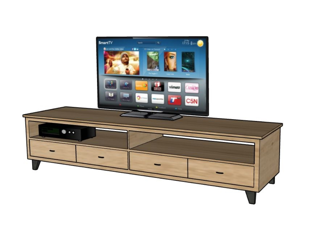 Model in third dime.television