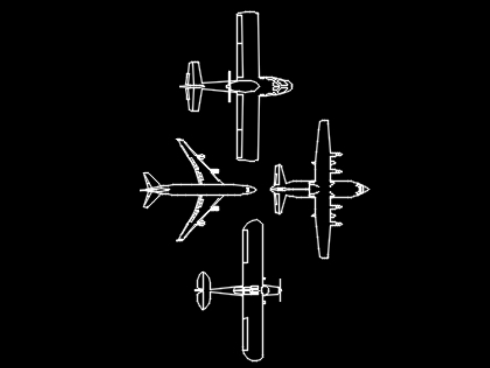 Different types of planes