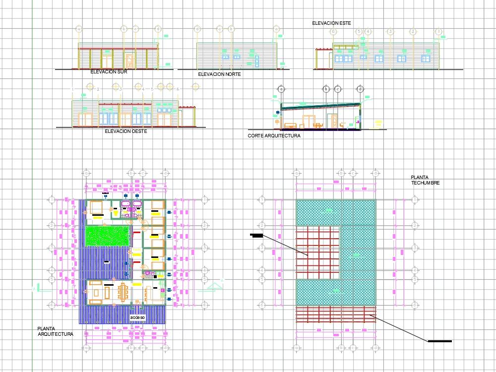 Casa de campo - unifamiliar (12.3 x 16.4)