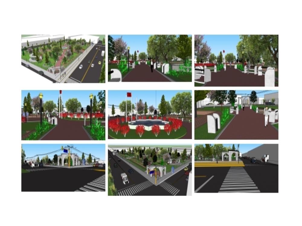 Plaza mayta capac; miraflores; arequipa