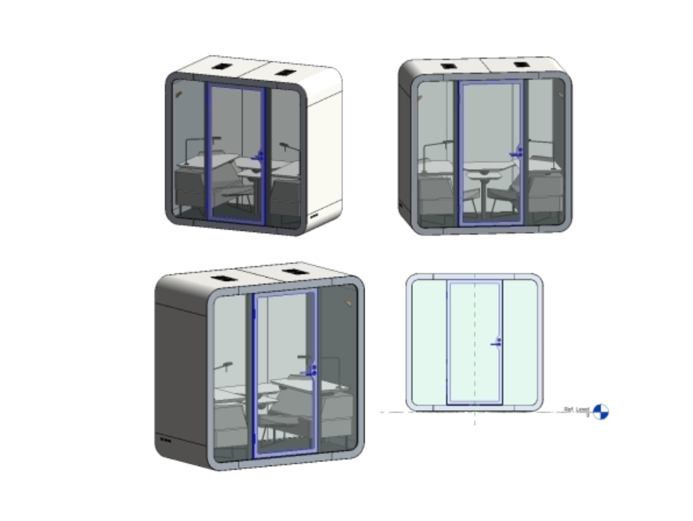 Capsule family for offices