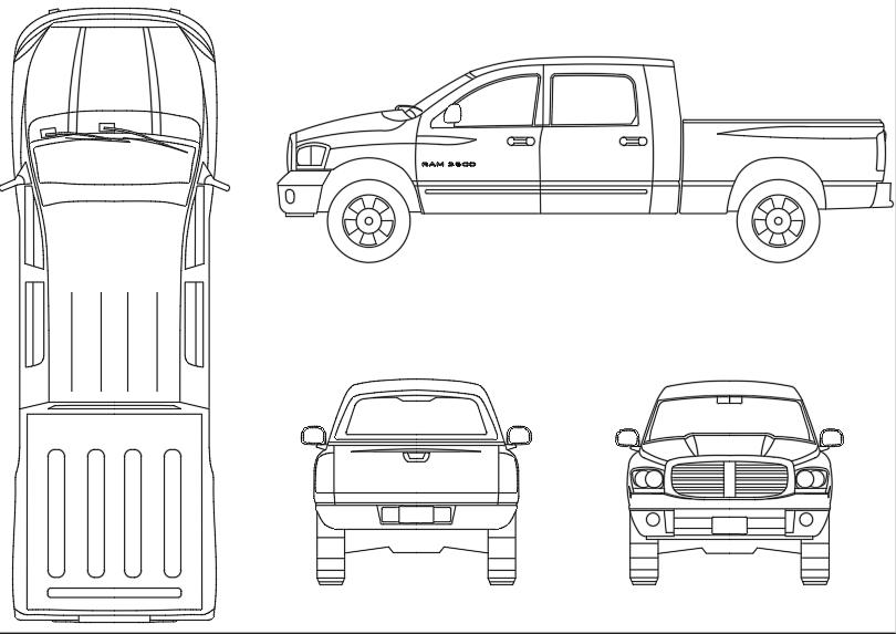 Vehículo-pickup-