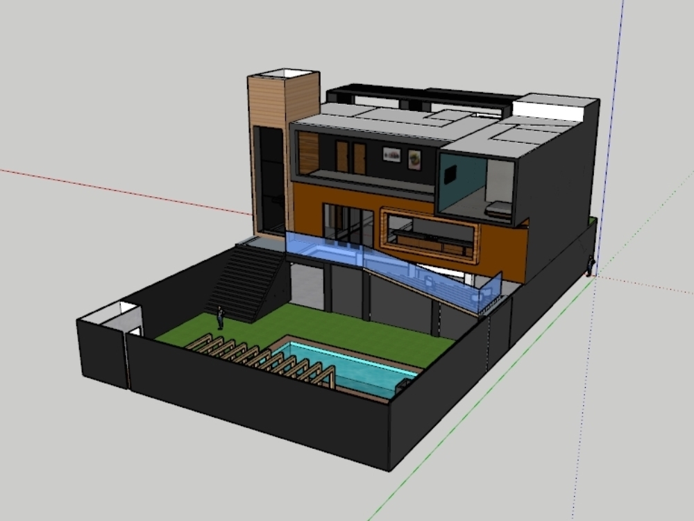Casa completa con 400m² + piscina y zona de barbacoa