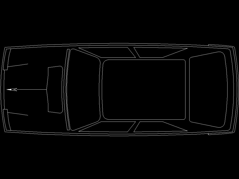 Autos y vehículos de transporte autocad