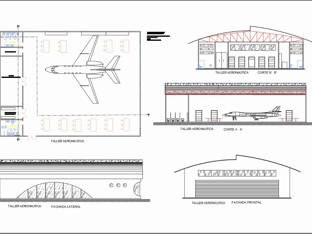 Aeronautics school ship (plans)
