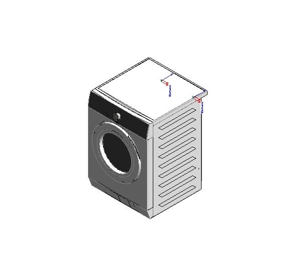 Lavadora 10-12 kg. de capacidad