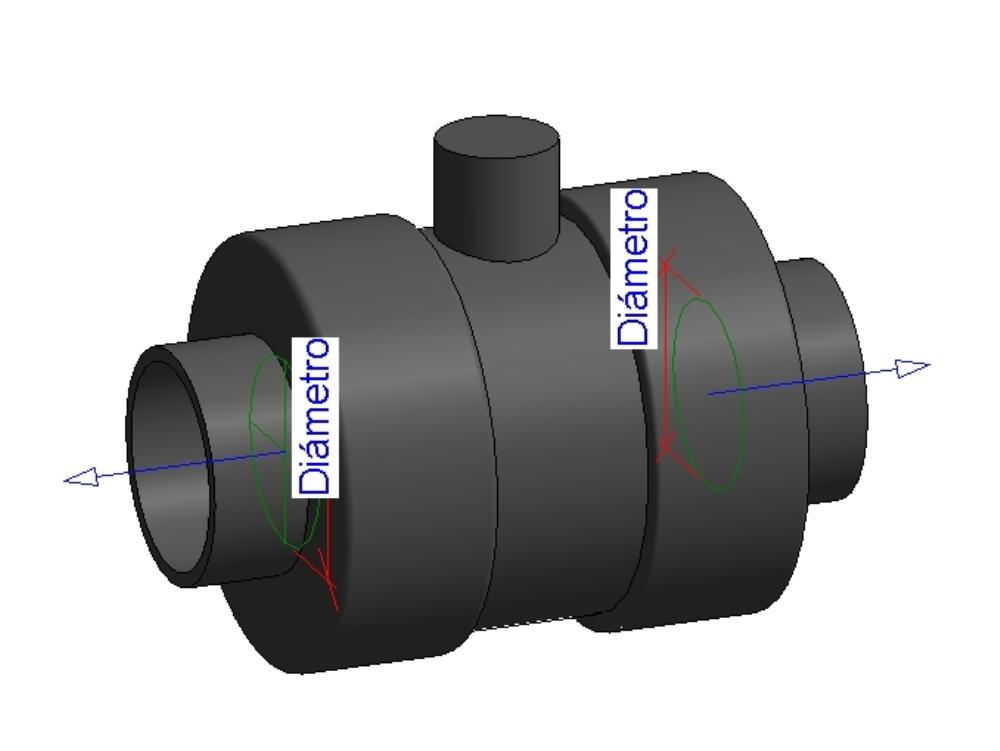 Valvula esfera pvc estandard series