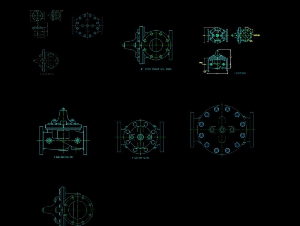 Mechanical engineering valves