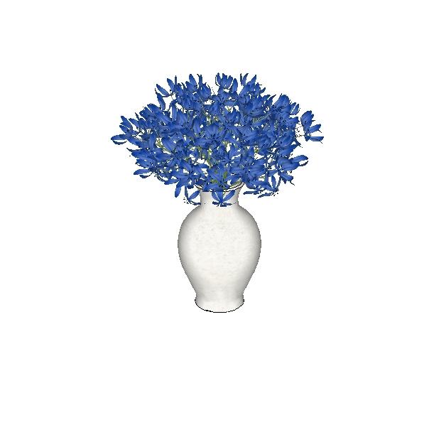 Flores 3d de alta definición con textura