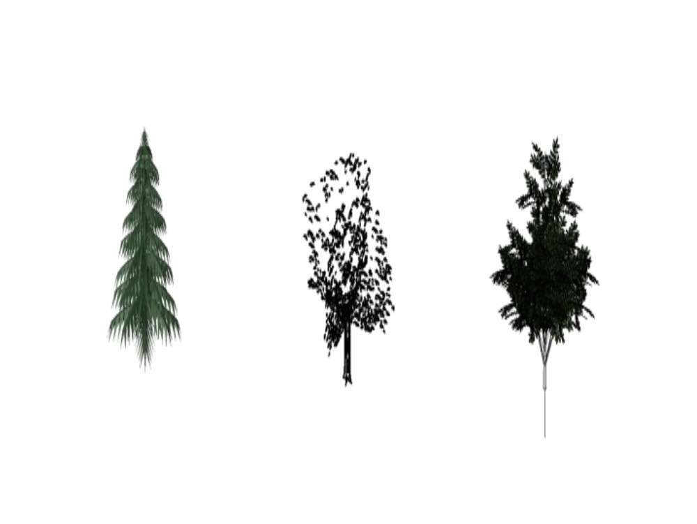Trees in revit