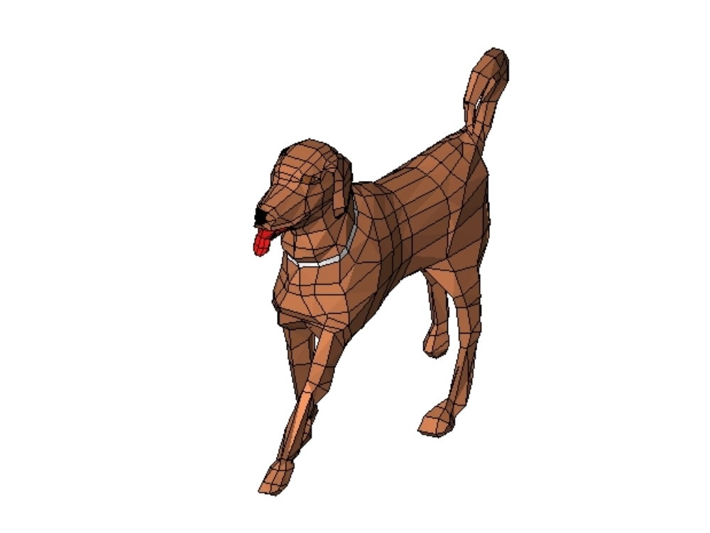 Pet - 3d dog revit
