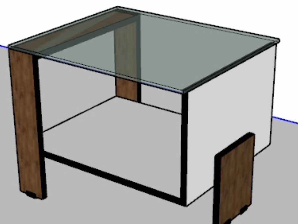 Floating coffee table - for living rooms