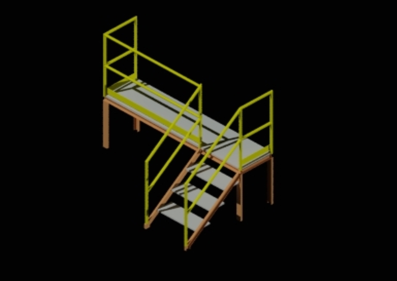 Access ladder635x2680x930
