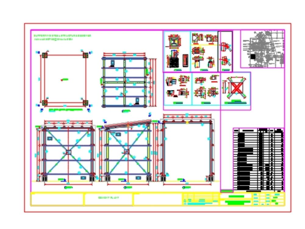 Cobertizo de acero para motor que soporta experiencia en diseño de estructura de acero