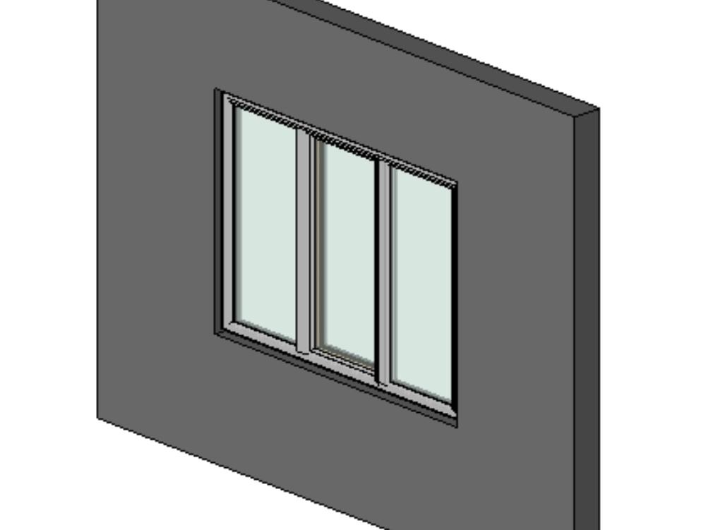 Revit 3d window